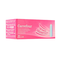 Carrefour Ladies Tampons Digital Mini 24 Napkins