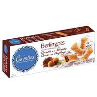 Gavottes Rolled Wafer Filled Cocoa With Hazelnut 90g