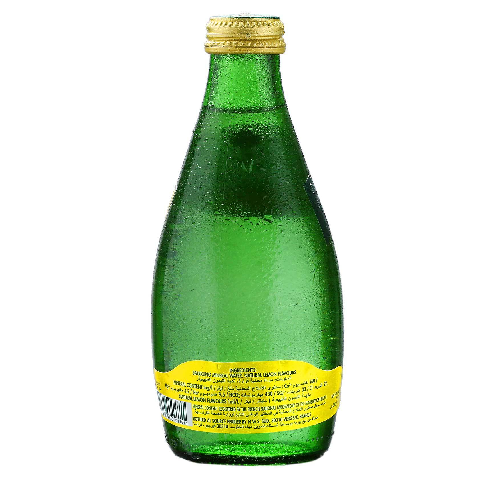 PERRIER WATER LEMON 330ML