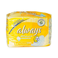 Always Ladies Pads Regular With Wings 10 Napkins