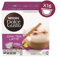 Nescafe Dolce Gusto Chai Tea Latte Coffee Capsules (16 Capsules, 8 Cups)