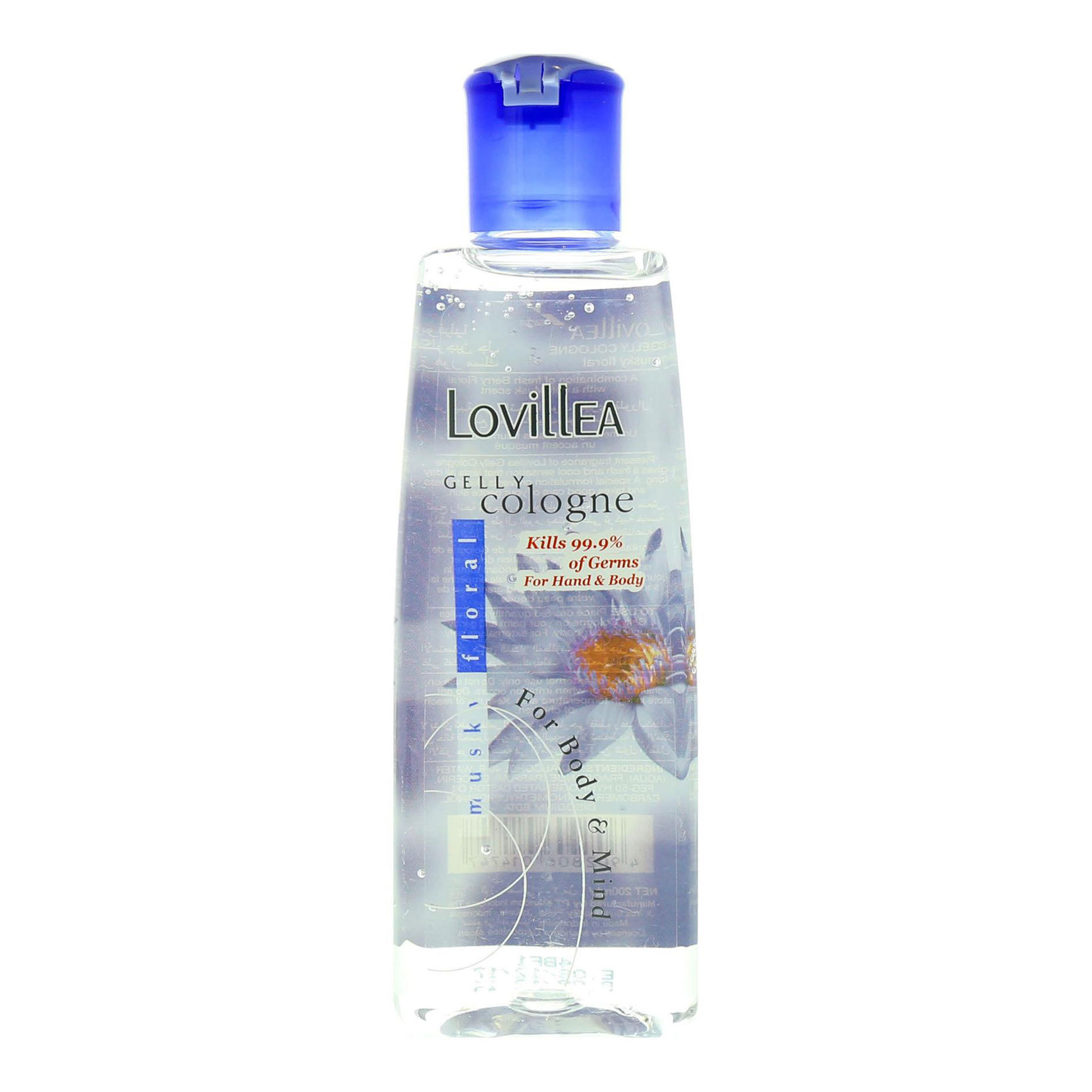 LOVILLEA GELLY COLOGNE MUSKY 200ML