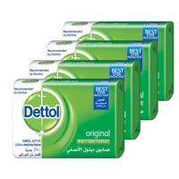 ديتول صابون أوريجينال مضاد للبكتريا 165 غرام 4 قطع