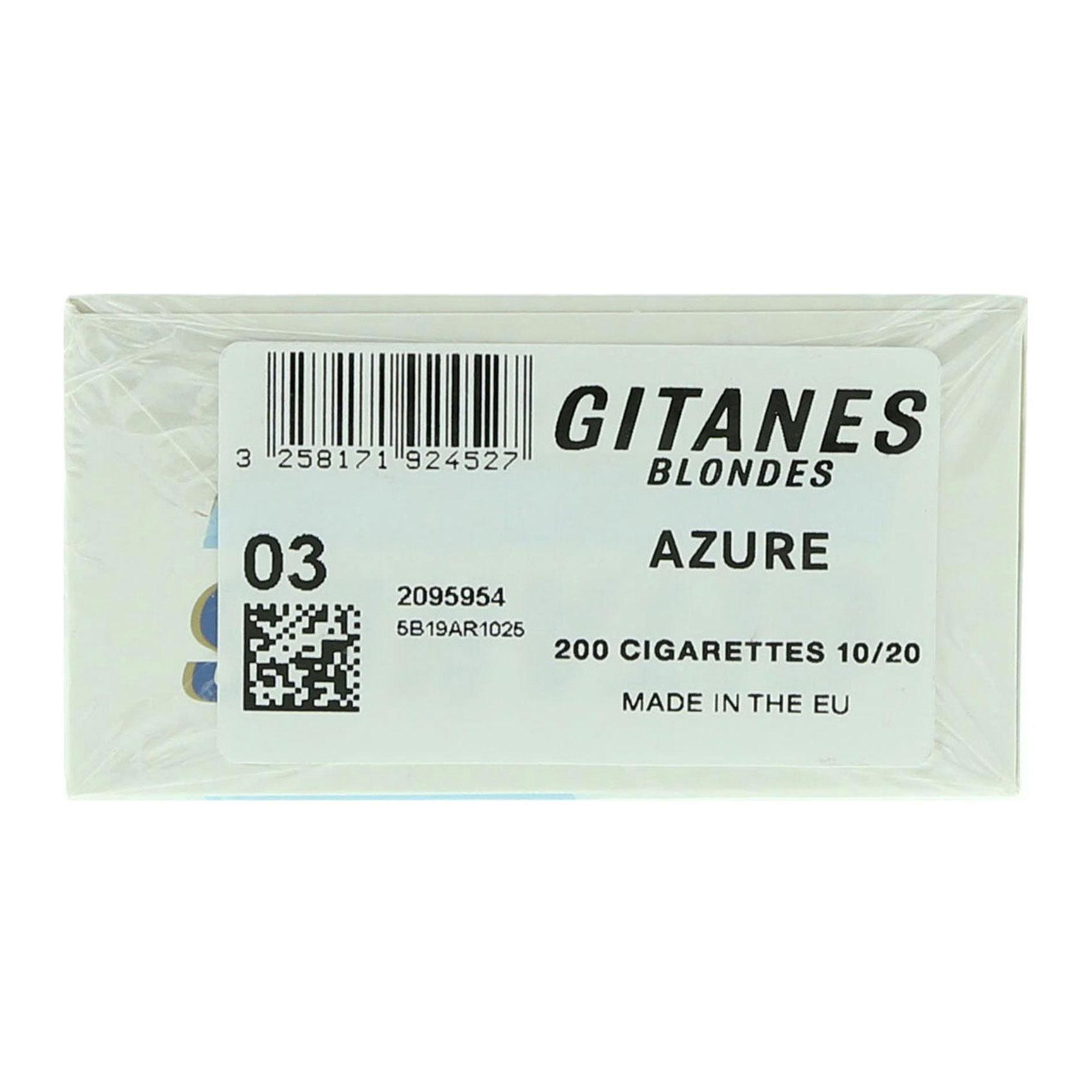 GITANES BLONDES ULTRA LIGHT 20X10
