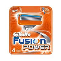 Gillette Fusion Power Razor Blades Refill Pack Of 4