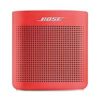 Bose Bluetooth Soundlink Speaker II Soft Red