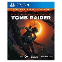 Sony PS4 Shadow Of The Tomb Raider Steel Book Edition
