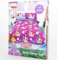 Sofia Quilt Cover 3pc Set