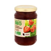 Carrefour Bio Organic Raspberry Jam 360g