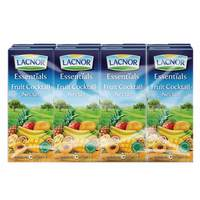 Lacnor Essentials Fruit Cocktail Nectar Juice 180mlx8