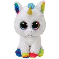 """Ty Beanie Boos Pixy - White Unicorn 9"""""""