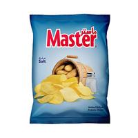 ماستر شيبس بطاطا بنكهة الملح 130 غرام