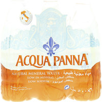 Acqua Panna Natural Mineral Water 500mlx6