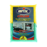 Arix Color Non Scratch Sponge 2 Pieces