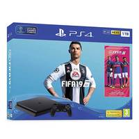 Sony PS4 1TB Slim Console+ FIFA 19 Bundle