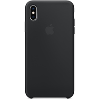 Apple Case iPhone XS MAX Silicone Black