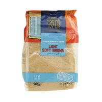 Tate & Lyle Light Soft Brown Cane Sugar 500g