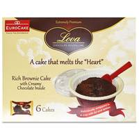 Eurocake Lova Chocolate Molten Cake 330g