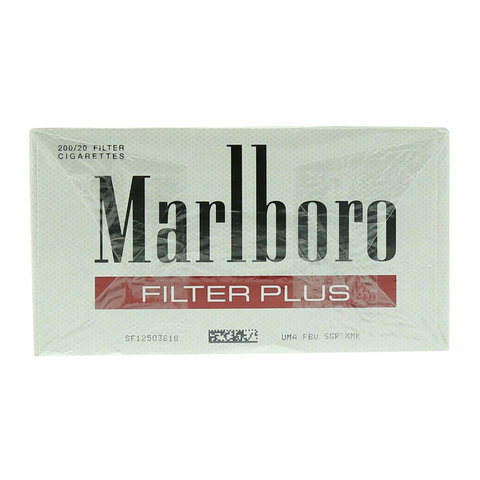 Marlboro-Red-Filter-Plus-200/20-Cigarettes(Forbidden-Under-18-Years-Old)