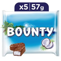 Bounty Milk Chocolate Bars Multipack 285 g