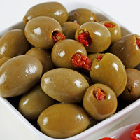 Green Olives Stuffed With Sun-Dried Tomatoes