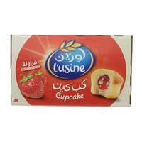 Almarai Lusine Soft Cupcake With Strawberry Filling 33g x18