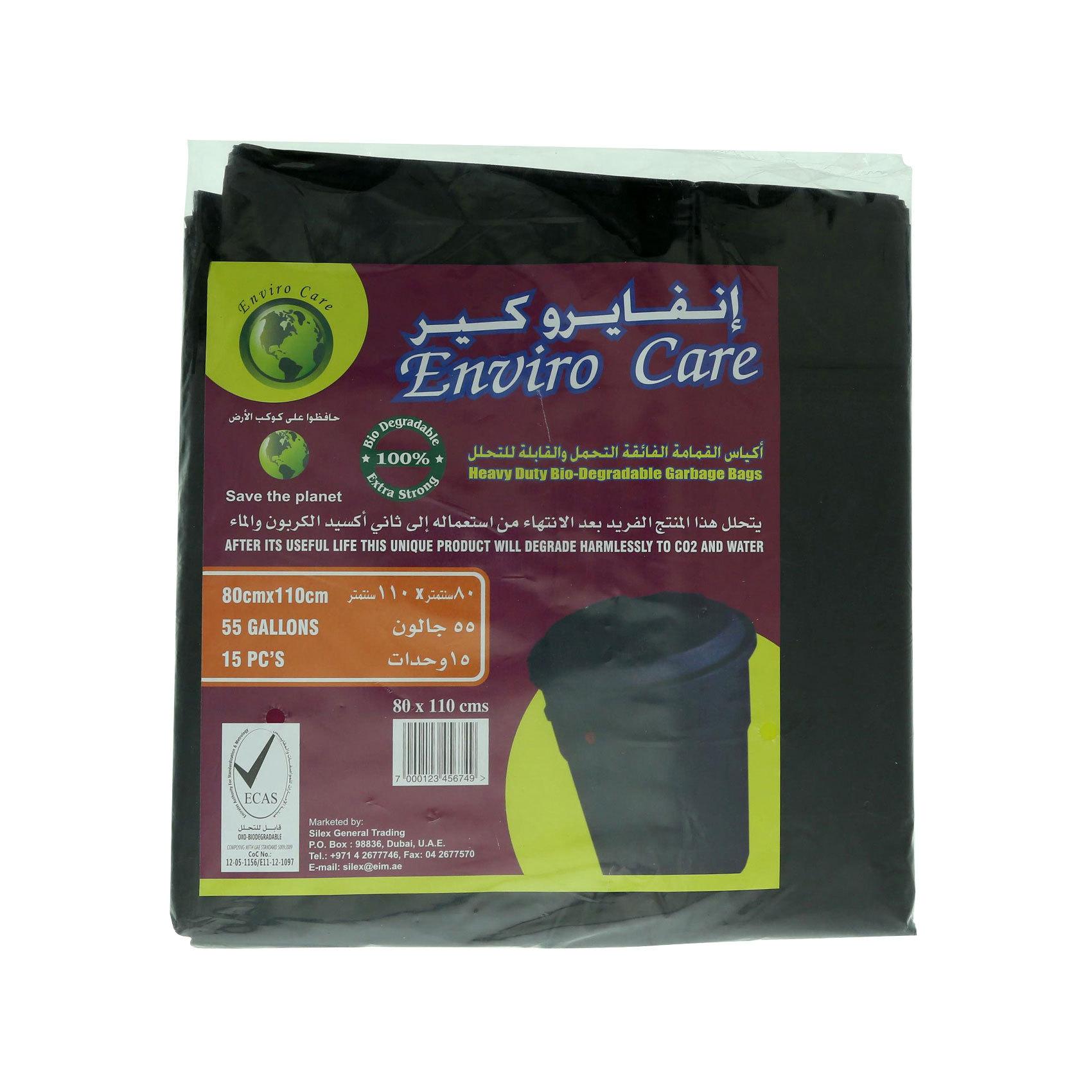 ENVIRO CARE BIO-GBAGS 80*110CM 15'S