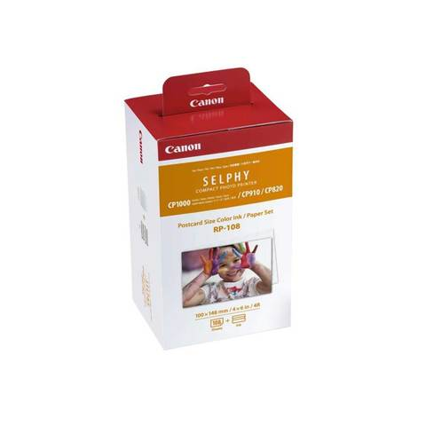 Canon-Ink-and-Paper-RP-108-For-Selphy-6x4-Color