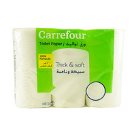 Carrefour Toilet Paper 3Ply x6