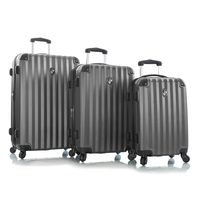 Heys Ridge 4W Trolley 3Pcs Set Pewter