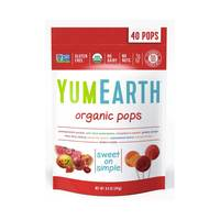 Yumearth organic pops 241 g x 40