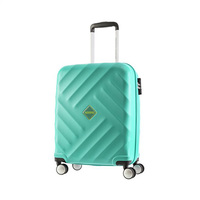 American Tourister Spinner Luggage Trolley Bag Set Of 3 Pieces Turquoise