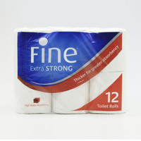 Fine Extra Strong Toilet 12 Rolls