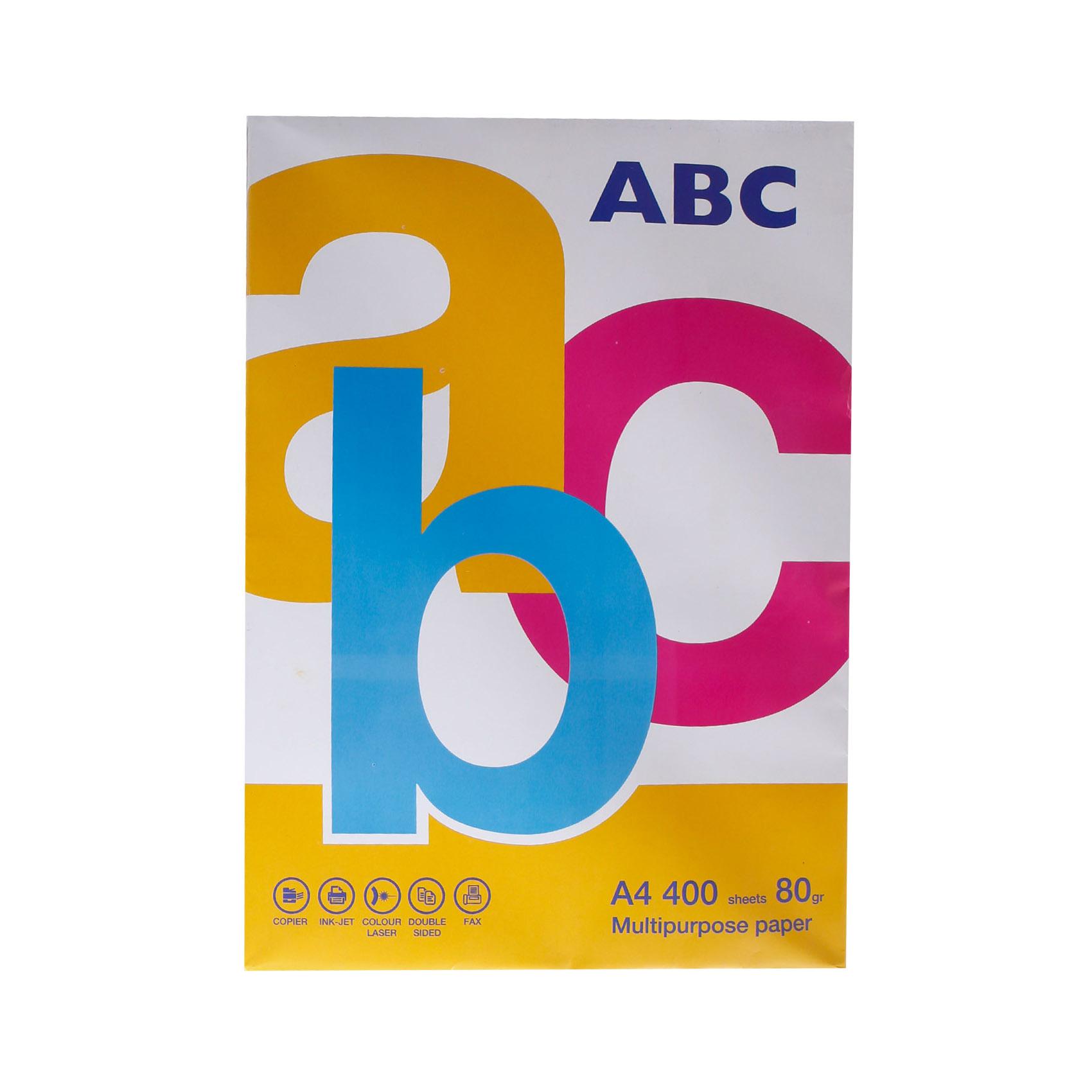 ABC PAPER A4 80 GRAM 400 SHEET