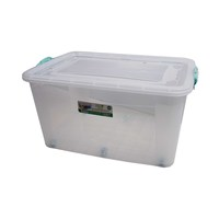 Poly Time Maxi Storage Box With Wheel 80 Liter