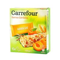 Carrefour Apricot Cereal Bar 125g