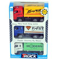Super Power Truck Set 3 Pcs Friction