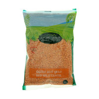 Green Valley Red Split Lentil 500g