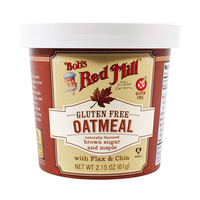 Bobs Red Mill Gluten Free Oat Meal Cup Brown 61GR