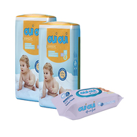Oui Oui Premium Baby Diapers Size 4/ 9-18KG