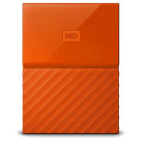 WD Hard Disk 2TB My Passport Orange Worldwide