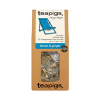 Teapigs Lemon And Ginger Tea Bags 37.5GR X15