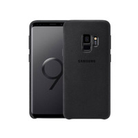 Samsung Galaxy S9 Cover Alcantra Black
