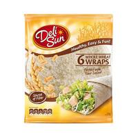 Delisun Tortilla Whole weat 360GR 6 Pieces