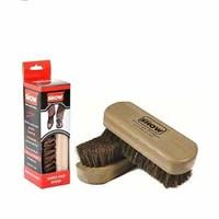 Show Shoe Brush 100% Horse Hair