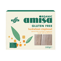 Amisa Organic Buckwheat Crispbread 120GR
