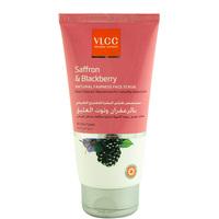 VLCC Saffron & Blackberry Natural Fairness Face Scrub 150ml