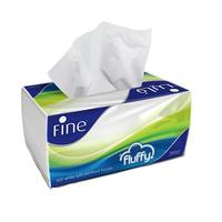Fine Facial Tissue Fluffy 300 Sheets