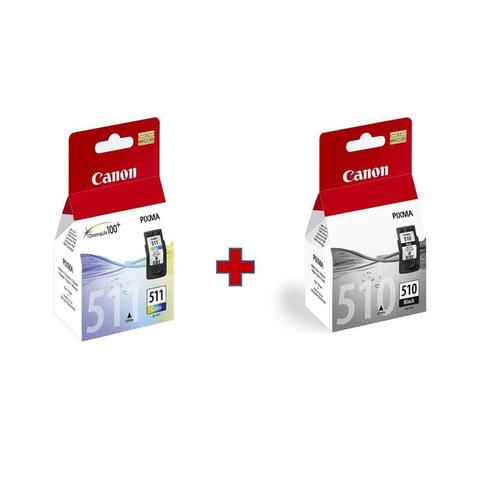 Canon-Cartridge-PG-510-Black-&-CL511-Color