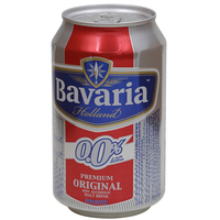 Bavaria Holland Non Alcoholic Malt Drink Original 330ml